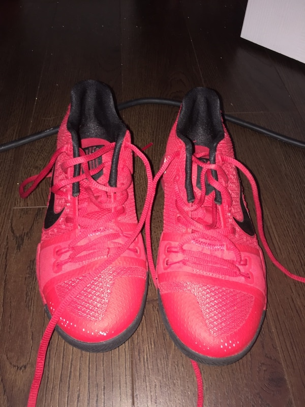 7d298b477ea Used Size 4 Red Kyrie 3 for sale in Brampton - letgo