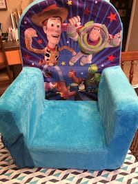 Child toy story sofa chair, freshly cleanec Markham, L3P 6W1