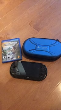 Black sony psvits with case and game (price firm) Dundas, L9H 7M5