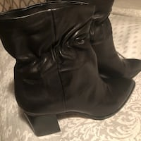 Black Leather Boots Inver Grove Heights, 55076