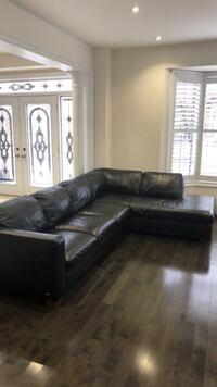 Full Leather Sectional Sofa Vaughan, L6A 4H5