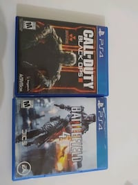 PS4 CALL OF DUTY BLACK OPS 3 VE BATTLEFIELD 4