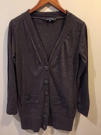 Brown sweater cardigan large great condition Ajax, L1T 3X5