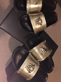 His and hers limited edition Versace slide $450 EACH!!! Brampton, L7A