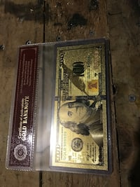 24k gold banknotes w/ certificate of authenticity  Everett, 98204