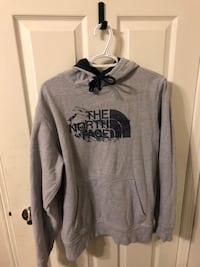 gray and black The North Face pullover hoodie Pickering, L1V 5W9