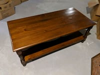 Wooden Coffee Table King City, L7B 1K4