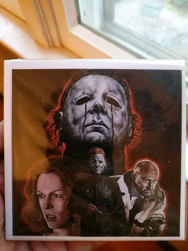 MICHAEL MYERS COASTER SET 4X4