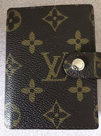 Black and brown louis vuitton leather wallet Pointe-Claire, H9R 5T4