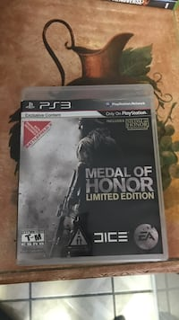 Medal of Honor PS3 game case Las Vegas, 89110