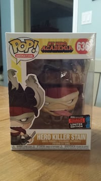 My Hero Academia Funko Pop Stain $35 or Trade. Ajax