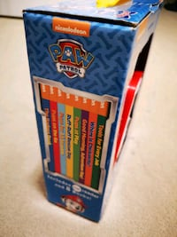 Paw patrol ,8 books with electronic reader Markham, L6C 1J1