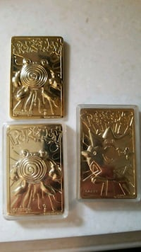 24k plated 1999 metal pokemon cards Frederick, 21702