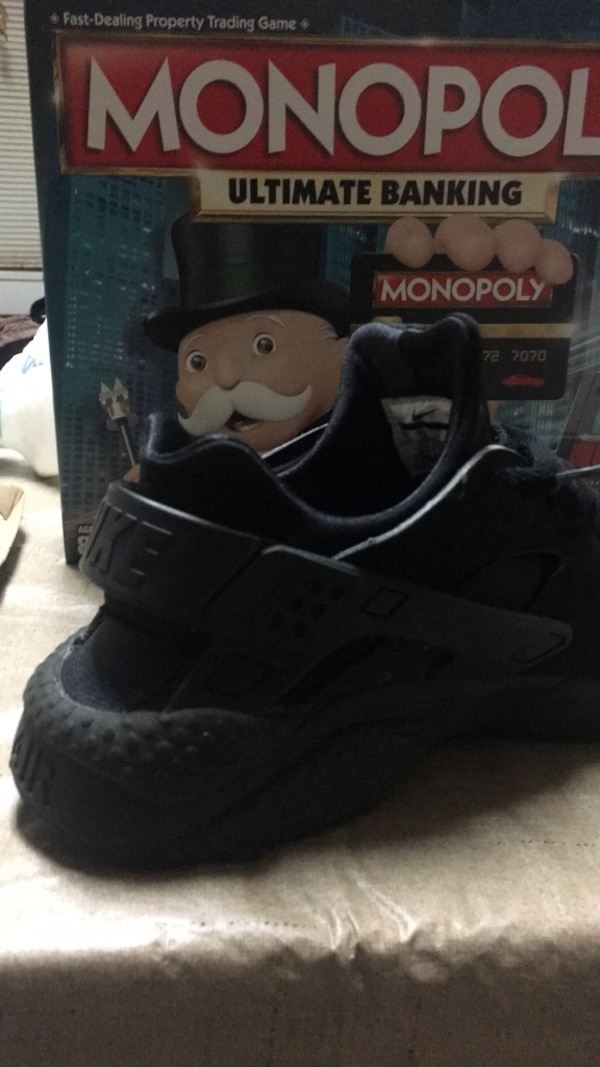 b0f265dbc Used pair of black-and-gray Adidas sneakers for sale in Newnan - letgo