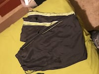 Size large (bcg) track pants with zippers on the leg