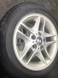 205-55-16 Winter tires and rims set of four Toronto, M6N 1K8