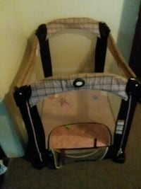 Baby's girl: pink and brown playpen Rochester, 14611