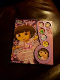 Dora cake pan and book