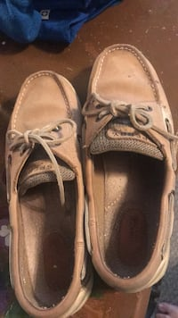 pair of brown boat shoes Covington, 41015