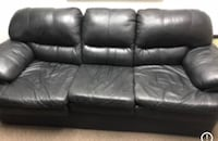 Black Leather Couch Mississauga, L5R 1R2