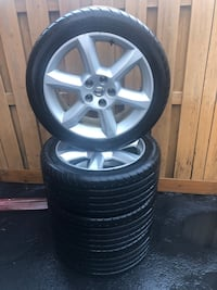 All season Tires with rims + spare for sale Toronto, M6M 1E1