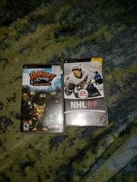 two assorted PS3 game cases Cambridge, N1R 6S3