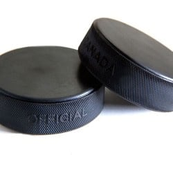 Official Regulation Hockey Pucks