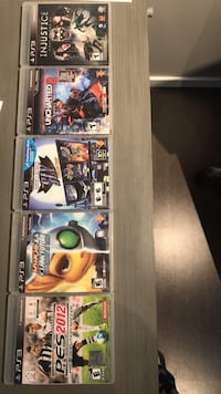 Legendary ps3 video games see description for individual prices Surrey, V3V 2T5