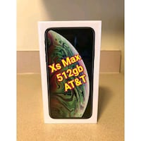 iphone Xs Max 512gb At&t Washington