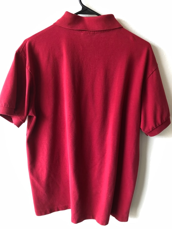 6a4e981b7 Used Lacoste Red Polo for sale in Pasadena - letgo