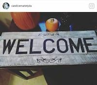 gray and black wooden welcome signage screenshot Boonville, 47601