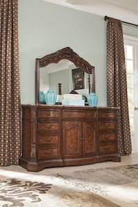 Marble top dresser and mirror Caldwell, 83605