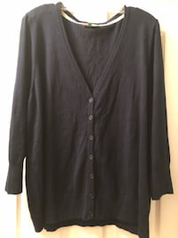 ModCloth Charter School Cardigan size 4X in Navy