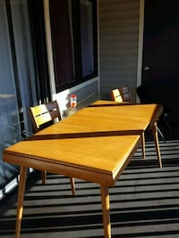 brown wooden table with chairs Orlando, 32809