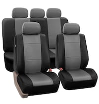 Leather Car Seat Cover - Grey Toronto, M1R 3N6