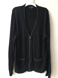 Men's black Banana Republic Cardigan Washington, 20037