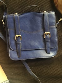 bae374e94 Used blue leather crossbody bag for sale in Fremont - letgo