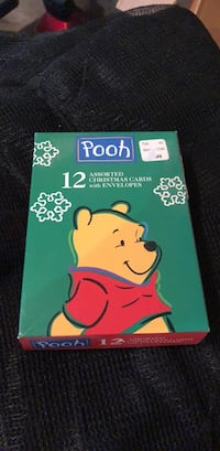 pooh Christmas cards with envelopes  Calgary, T2Y 2N1