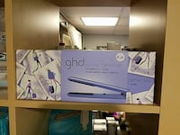 GHD classic periwinkle hair flat iron box Kensington, 20895