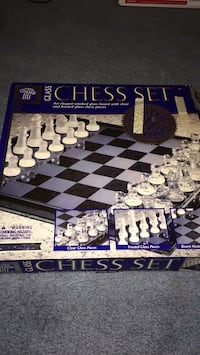 black and white chess board game set 70 mi