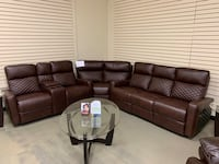 Beautiful New Reclining Sectional Jacksonville, 32216