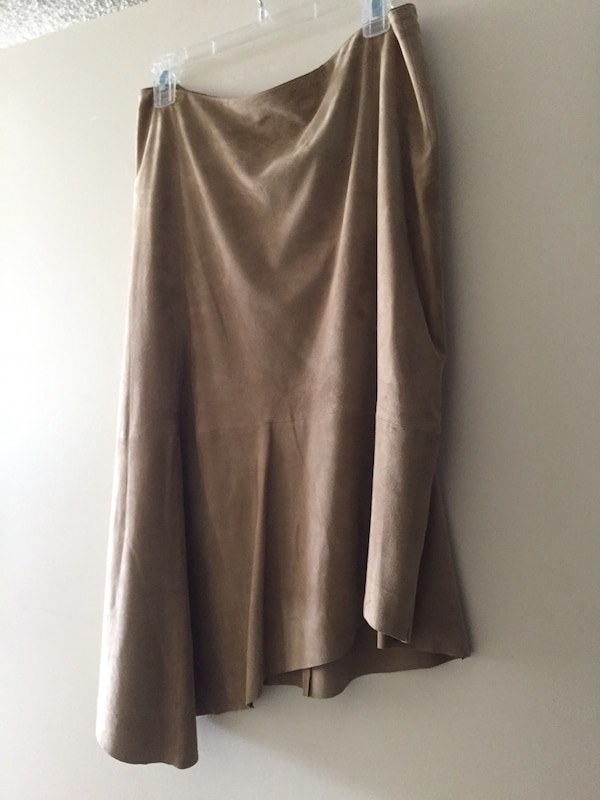 db3d167fe Used Lafayette 148 New York Chantee Suede Asymmetric Hem Skirt for sale in  North Lauderdale - letgo