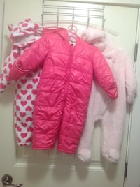 pink zip-up bubble jacket Kelowna