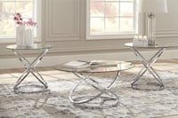 Set of 3 glass tables  Silver Spring, 20910