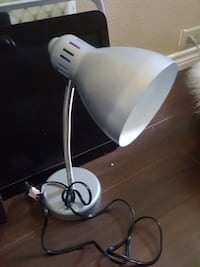 white and gray desk lamp Plano, 75024