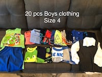 Size 4 Boys Clothes - clean and good condition Surrey, V4N 4W2