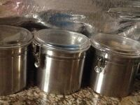 four stainless steel cooking pots Frederick, 21703