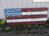 red and white wooden board Salem, 97306