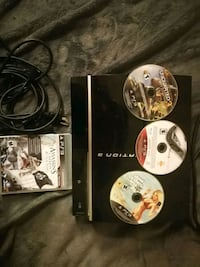 PS 3 with 4 different games  Toronto, M5A 2N9