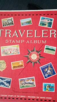 Stamp book and loose stamps. Omaha, 68110